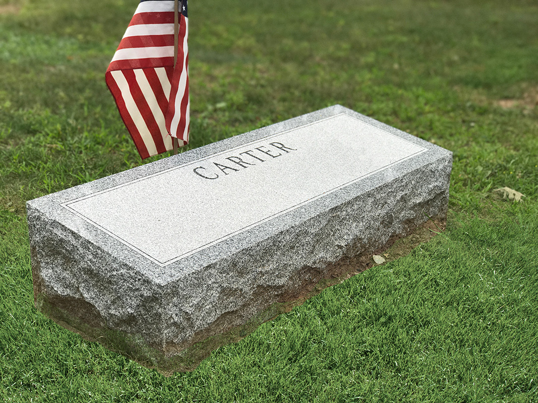 Flat or Bevel Granite Markers